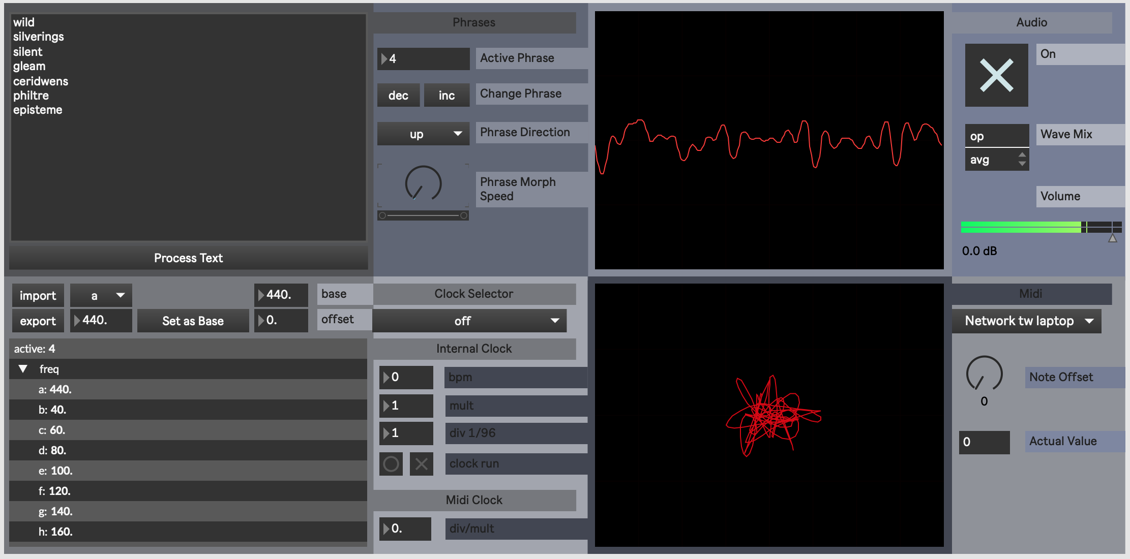 Audio Sigil Software